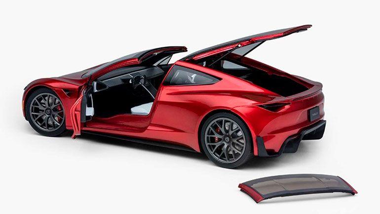 В Сети показали новый Tesla Roadste