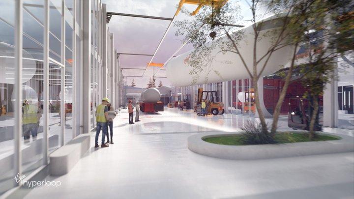 В США построят тестовую станцию Hyperloop: как будет выглядеть проект. Фото