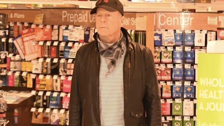 Упрямого Брюса Уиллиса выгнали из магазина в Лос-Анджелесе