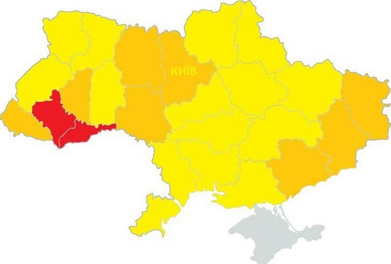 Названы области Украины, в которых могут усилить карантин