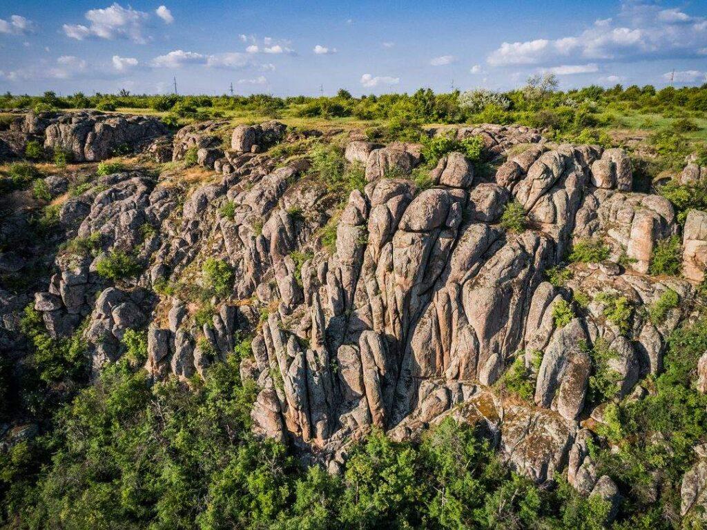 «Долина Дьявола»: веские причины посетить украинский Гранд-Каньон. Фото