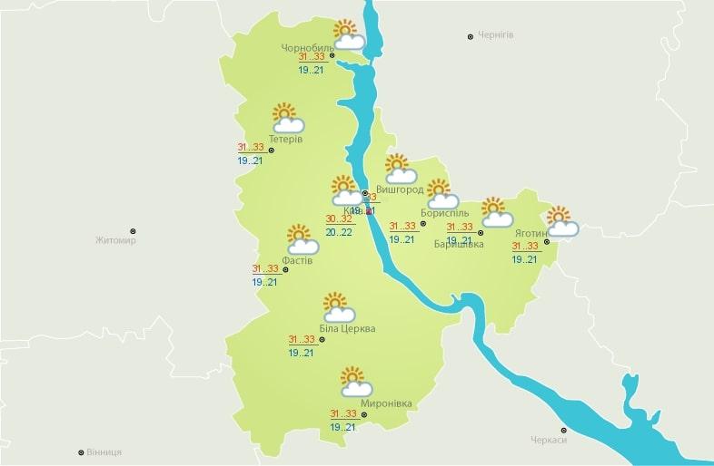 Жара до +36 и грозовые ливни: свежий прогноз погоды