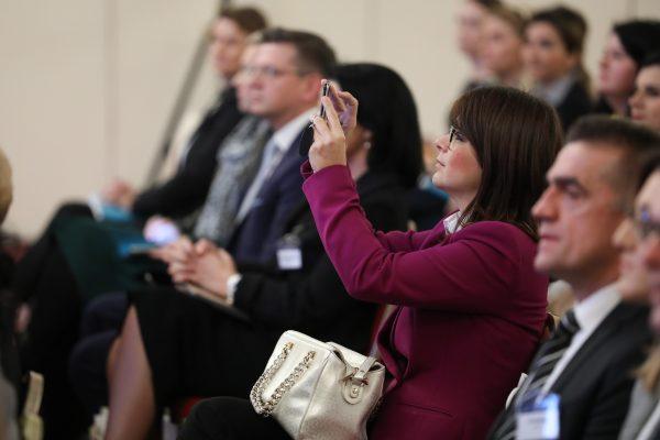 Zagreb, 201119. Hotel Westin. Konferencija HR Net Dugorocna izvrsnost u ljudskim potencijalima.  Na fotografiji: konferencija.  Foto: Marko Todorov / CROPIX