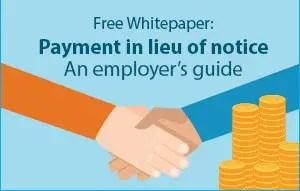 Xpert HR - Payment in Lieu