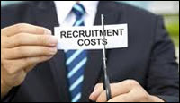cut recruitment costs