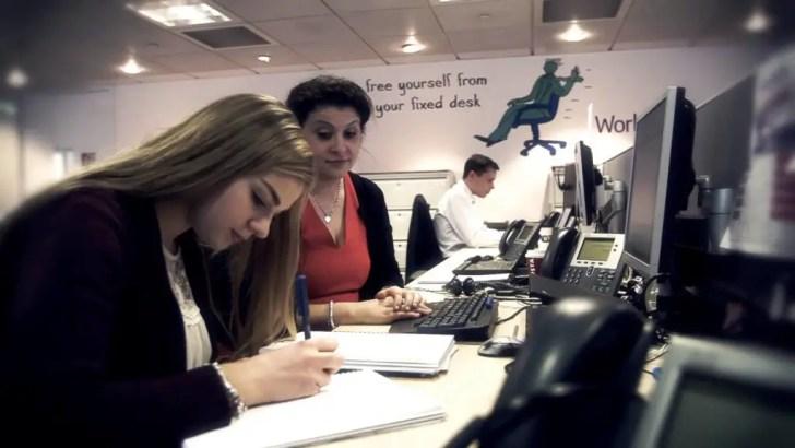 apprentice and graduate jobs rise