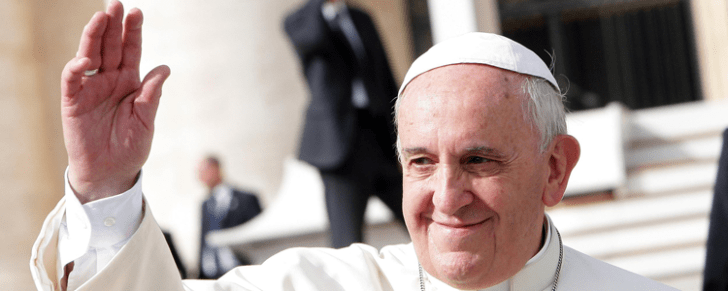 Pope Francis took on the biggest job of his career at age 76