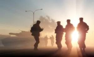 army on patrol