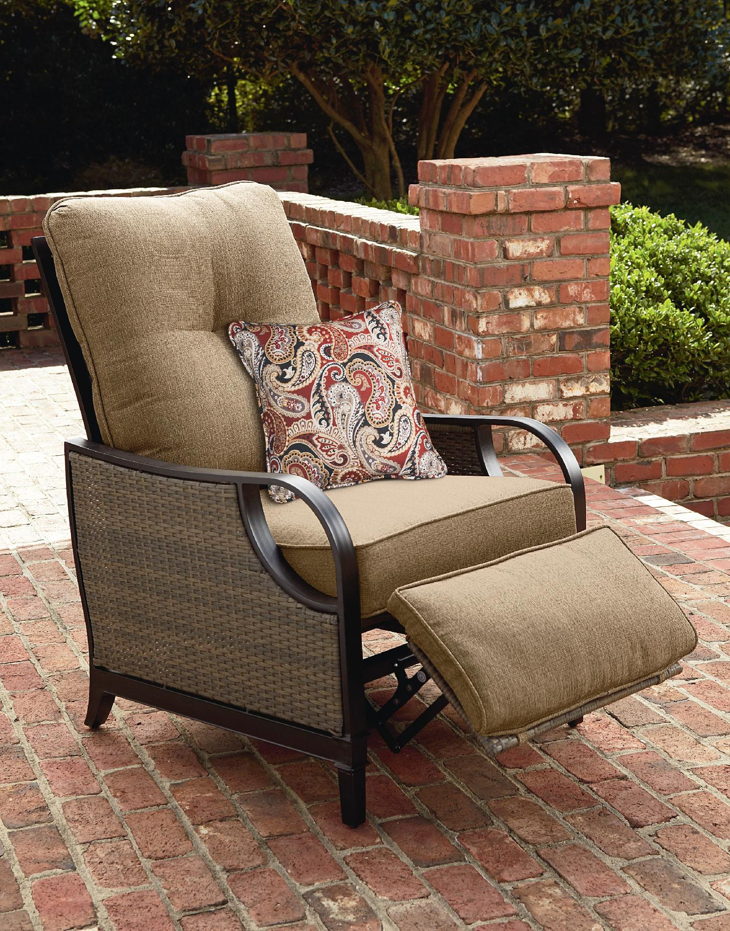 Outdoor Reclining Chair La Z Boy Lazy Outdoor Furniture Charlotte Patio Recliner