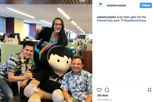 Salesforce uses Instagram for recruiting