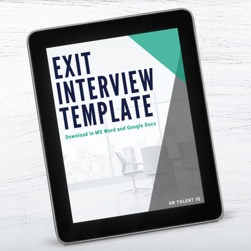 Exit Interview Template Download