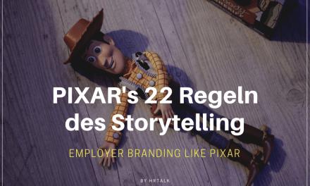 PIXAR's 22 Regeln des Storytelling