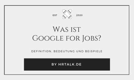 Was ist Google for Jobs?