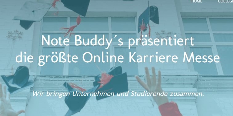 Note Buddy´s - Karriereevent