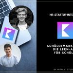 Schülermarketing mit Knowunity: Mit 19 Jahren starten Benedict und Julian eine Lern-App für Schüler