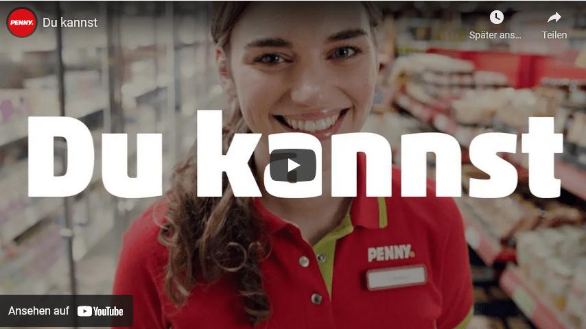 Penny mit neuem Video für Azubi Recruiting