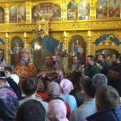 Божественная Литургия Преждеосвященных Даров - 22 марта 2018