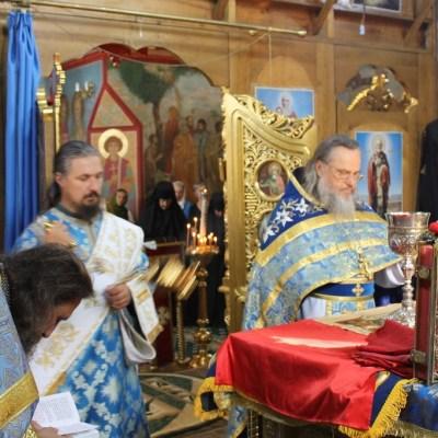 Sărbătoarea Adormirii Maicii Domnului celebrată în Biserica Arhanghelului Mihail din s. Hrustovaia