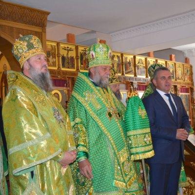Божественная Литургия в день архиерейской хиротонии Архиепископа Тираспольского и Дубоссарского Саввы
