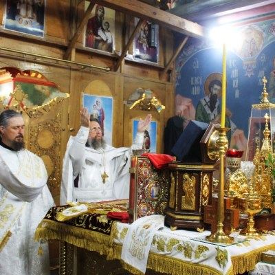 Божественная Литургия в праздник Вознесения Господня