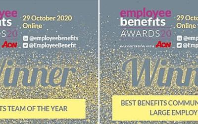 esparx helps Travis Perkins win two Employee Benefit awards