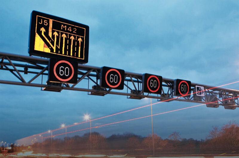 Nine more smart motorways get approved despite concerns