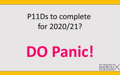 P11Ds for 2020/21, DO panic