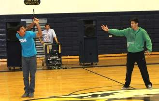 Gio x2 breaks their arms at the dance off.
