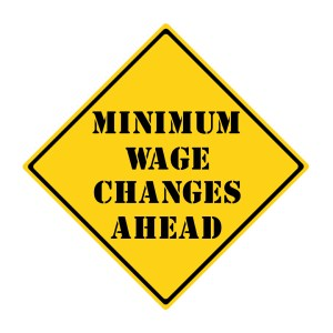 Start preparing now for the minimum wage increase!