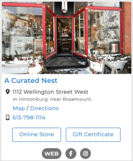 Curated Nest