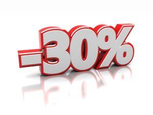 Rabatt von 30 % für VDAB Mitglieder