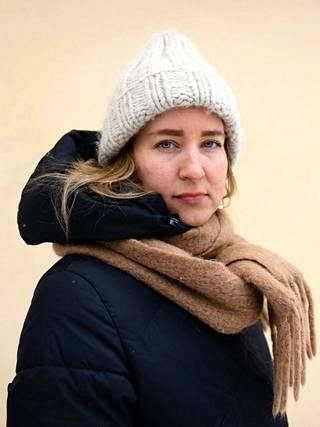 Political scientist Johanna Vuorelma.