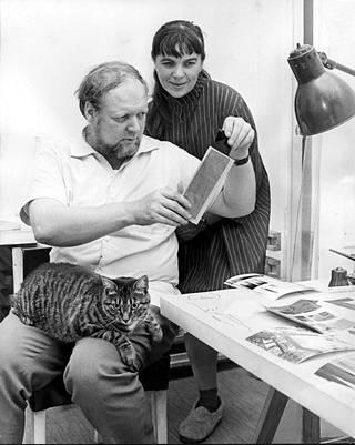 Reima and Raili Pietilä in 1966.