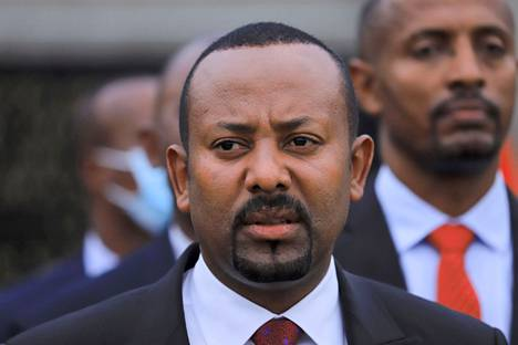 Ethiopian Prime Minister Abiy Ahmed in the capital Addis Ababa in June 2021.