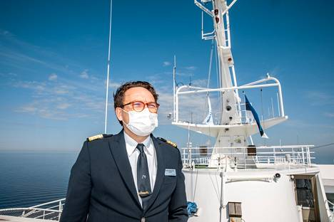 Silja Serenade's curator Oskar Lehmusniemi has worked for the company since 2006. He says that he spends about 170 nights a year on board.
