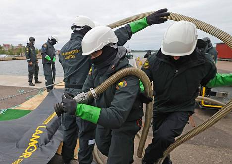 The Balex Delta exercise, which started on Tuesday, is the largest environmental damage control exercise in the Baltic Sea region
