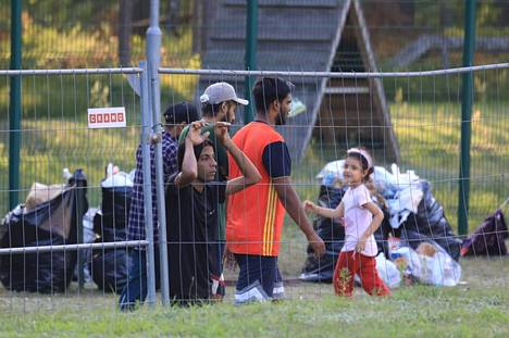 More than 4,000 migrants have arrived in Lithuania this year via Belarus.
