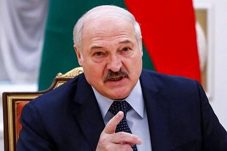 President of Belarus Alexander Lukashenko has a gate ban on the Tokyo Olympics.