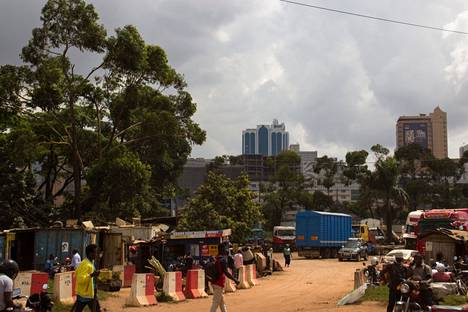 Uganda is plagued by youth unemployment.  In cities, many work in informal jobs, for example as street vendors.