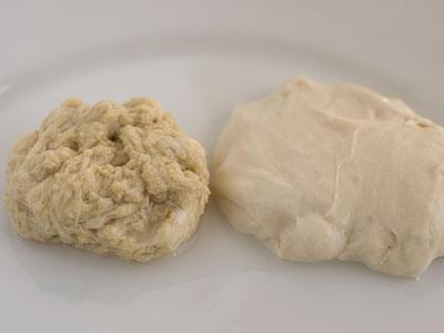 vegetarian meat dough