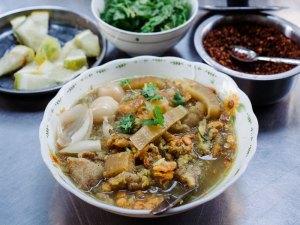 mohinga recipe Burmese fish noodle soup