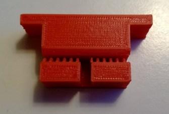 Y axis belt holder