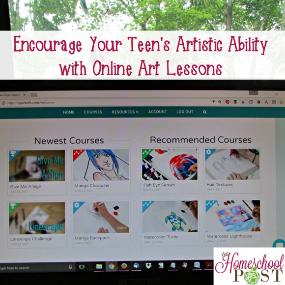 Encouraging Your Teen's Artistic Ability with Online Art ...