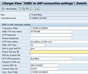 User Manual – Software Version 1 xx – HSBC to SAP