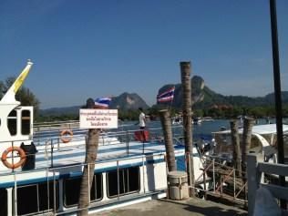 Embarquement Ferry pour Koh Lanta