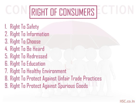 right of consumer protections