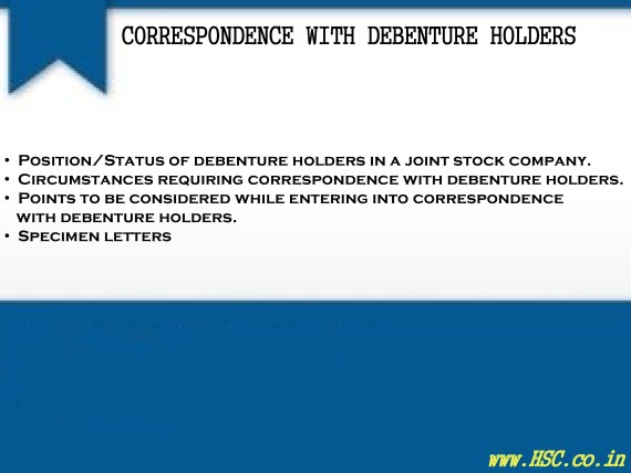 correspondence-with-debenture-holders-0