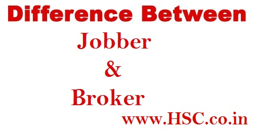 difference jobber and broker