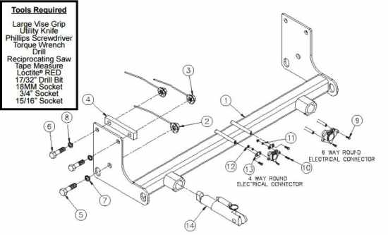 2011 jeep wrangler trailer hitch and wiring