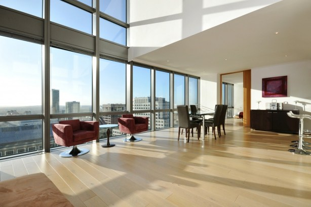 Spectacular 3 Bedroom Apartment, 1 West India Quay, Limehouse, E14
